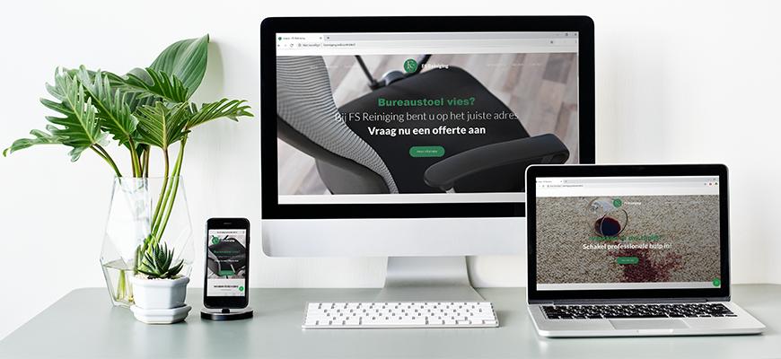 De nieuwe website staat online!